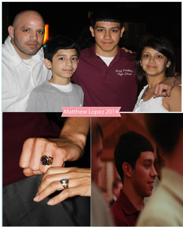 Mr. M's ring ceremony