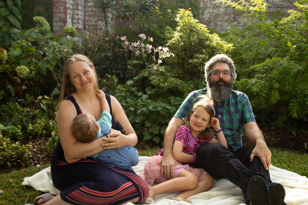 Mt.Airy Spring Family Portrait
