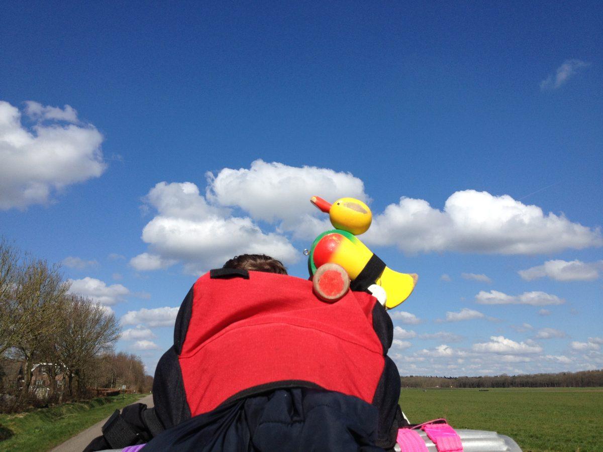 Heerlijk weer tijdens de 3e dag van de GPS-Hike HIT Alphen