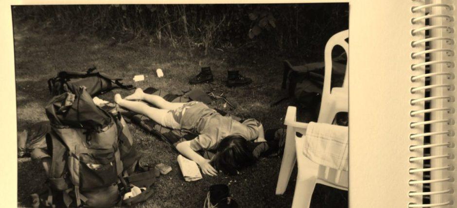 Uitgeput na het Pieterpad
