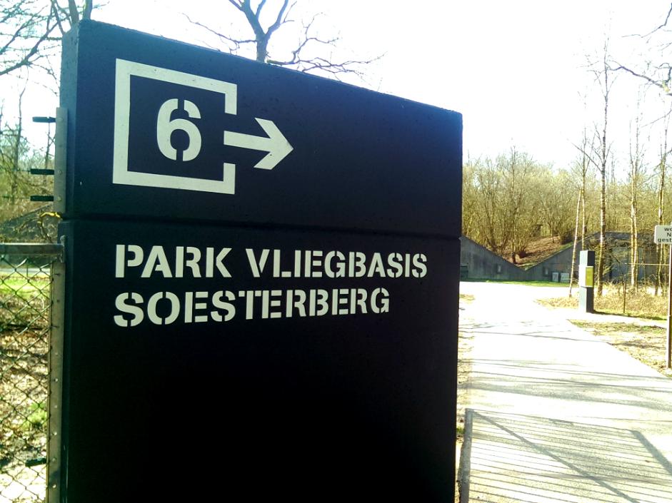 Park Vliegbasis Soesterberg Ingang