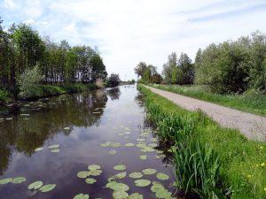 Schalkwijkse Wetering Trage Tocht Linielandschap Lek