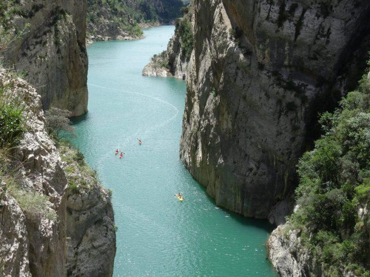 Wandelen Mont rebei kloof catalonië 6