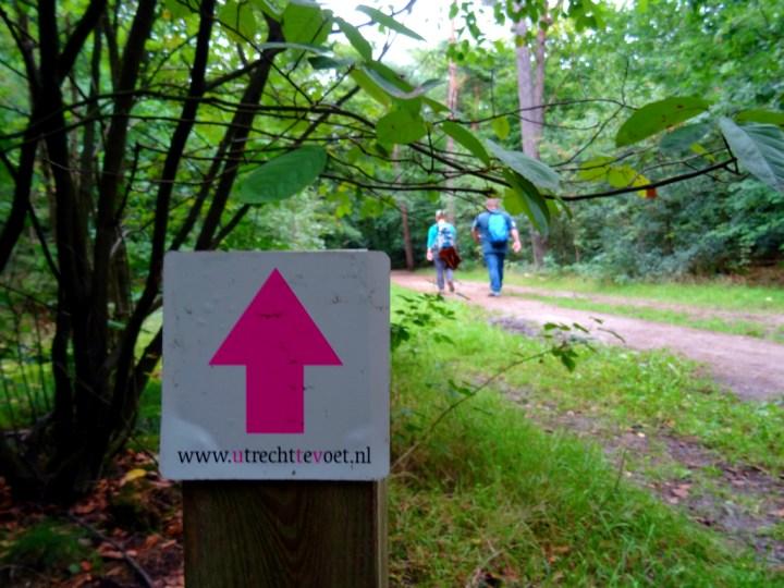 NS Wandeling Beerschoten - Bilthoven Utrecht te voet