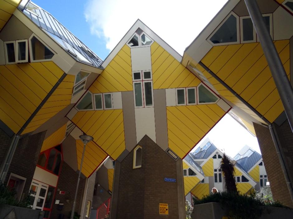 Kubuswoningen - Rotterdam stadswandeling