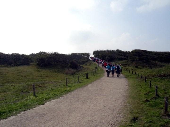 Wandel Kustmarathon Zeeland Duinen Domburg