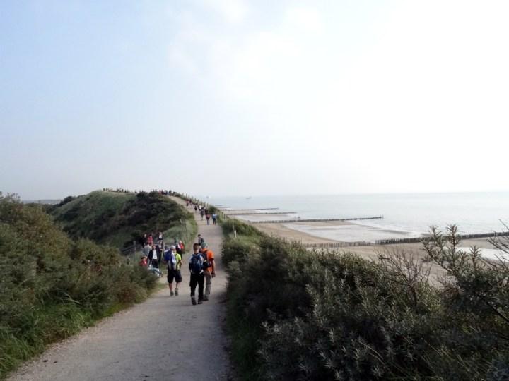 Wandel Kustmarathon Zeeland Laatste stuk