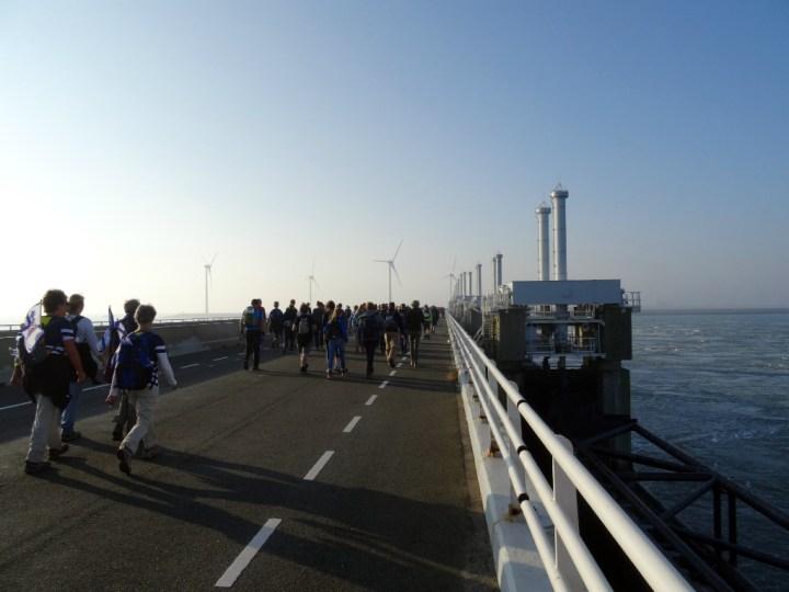 Wandel Kustmarathon Zeeland Stormvloedkering