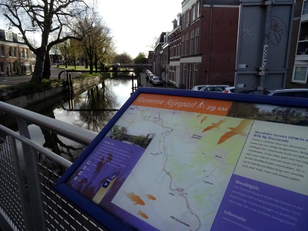Start - Kromme Rijnpad