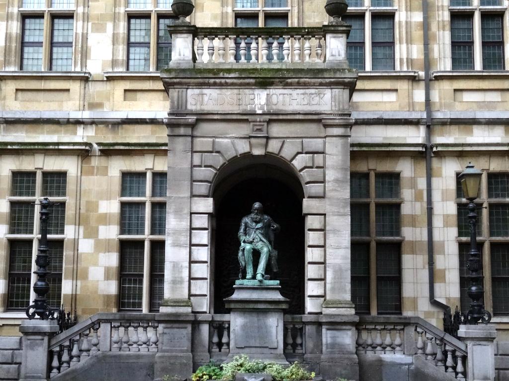 Stadswandeling Antwerpen Bibliotheek