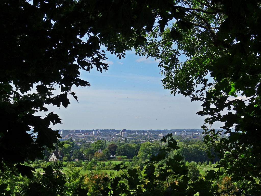 Uitzicht op Maastricht - Wolfskopwandelroute Zuid-Limburg