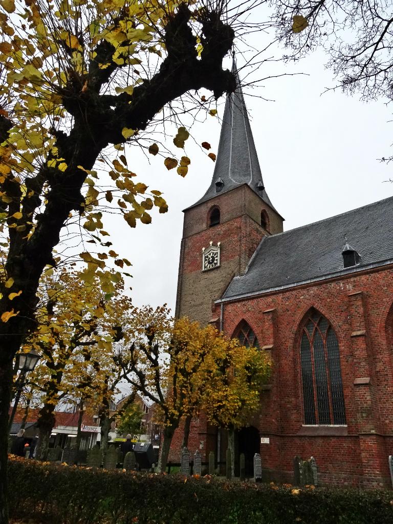 Kerk Kollum - historische wandeling Kollum