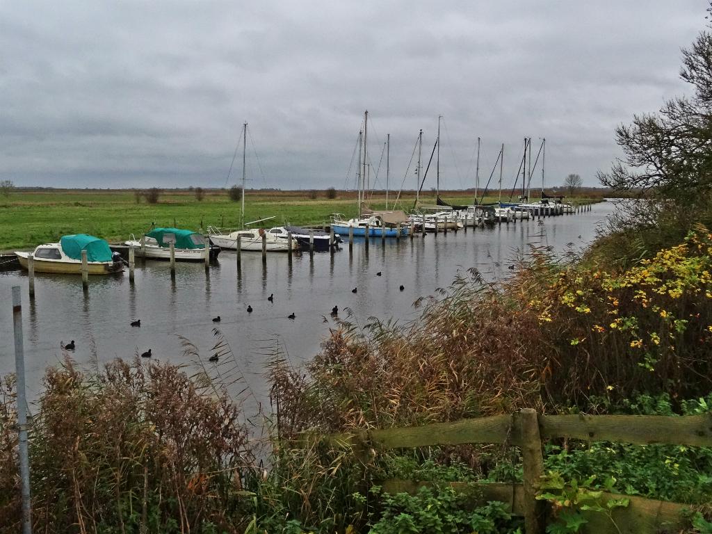 haventje - historische wandeling lauwersmeer