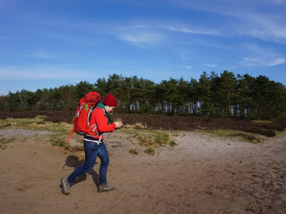Linda tijdens de GPS HIT Alphen