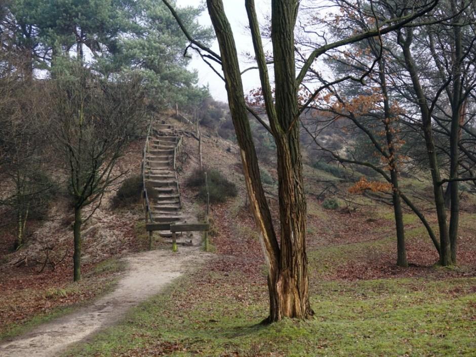 Trap naar de Heumense Schans