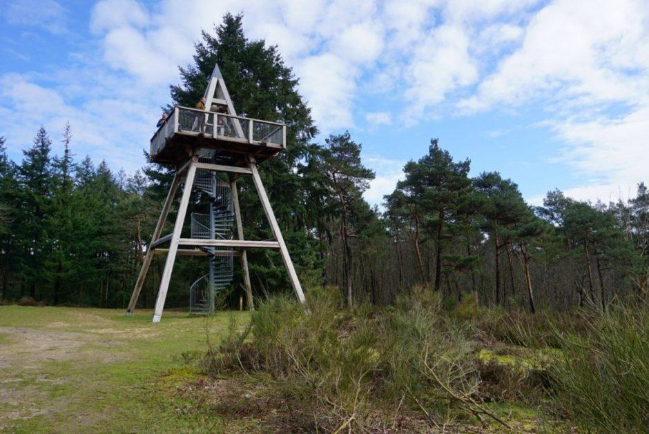 Uitkijktoren op de Mooker Schans