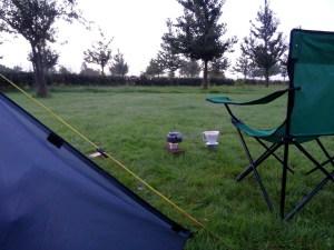 Wakker worden op camping Moerslag