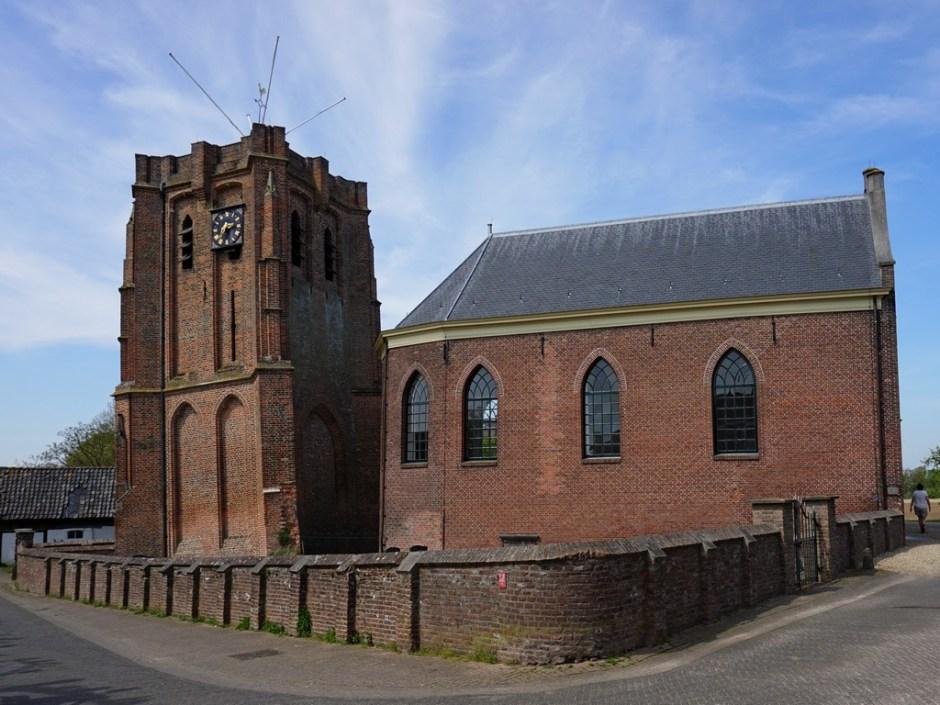 Scheve toren van Acquoy - Klompenpad Rhenoijschepad