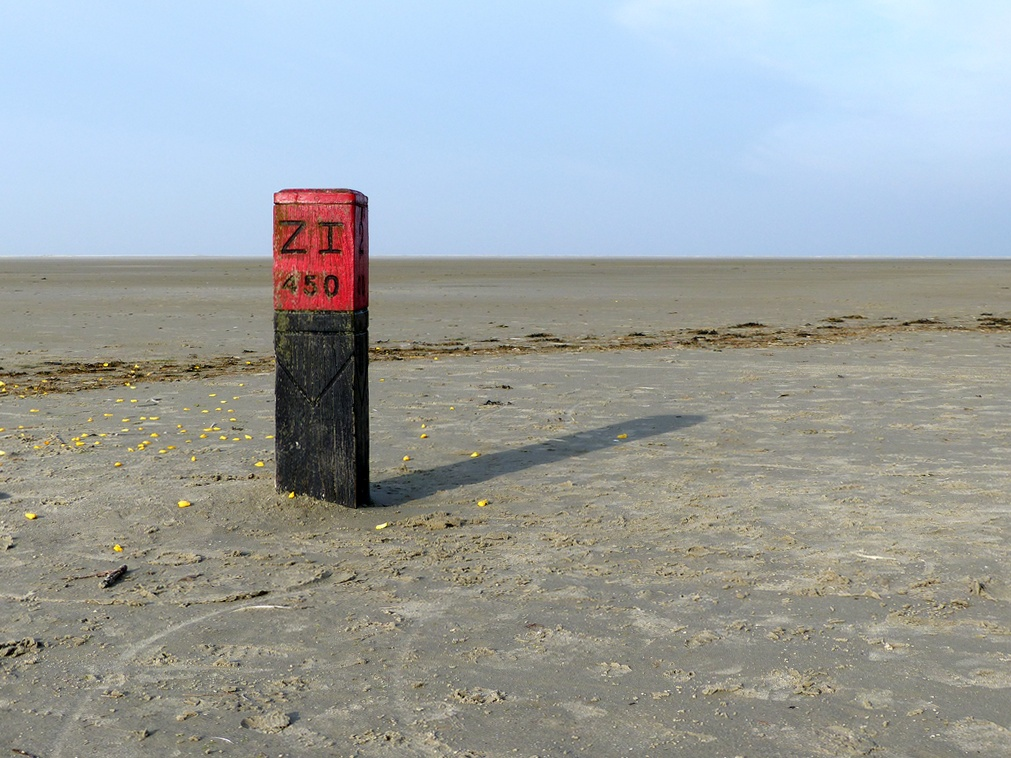 strandpaal-schiermonnikoog