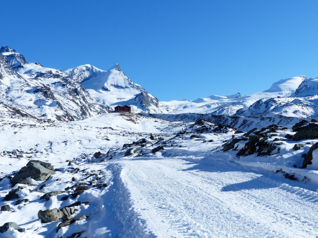 Winterwandelpad Zwitserland