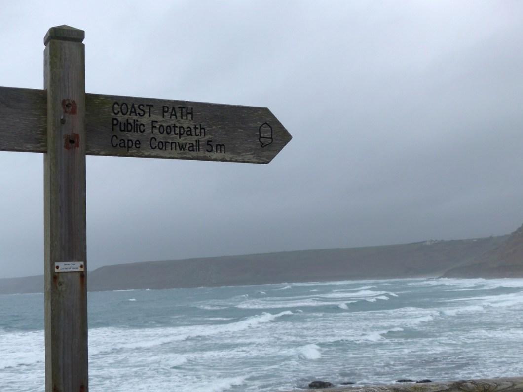 Bord South West Coast Path