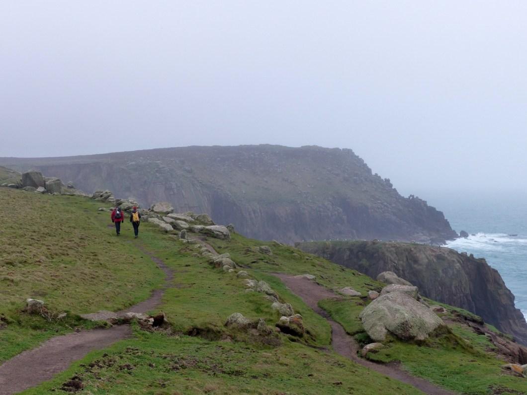 Wandelaars South West Coast Path