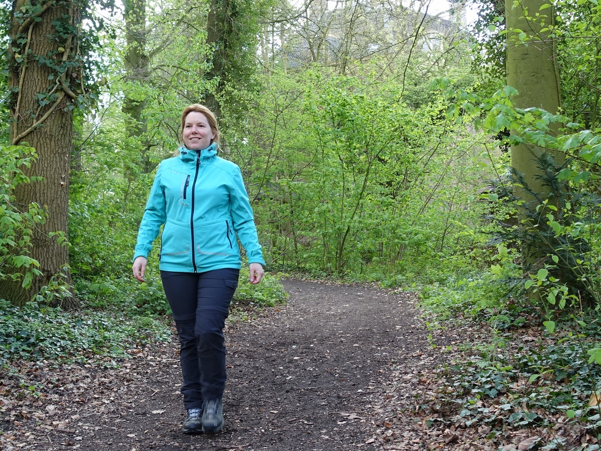 wandelen helpt bij afvallen