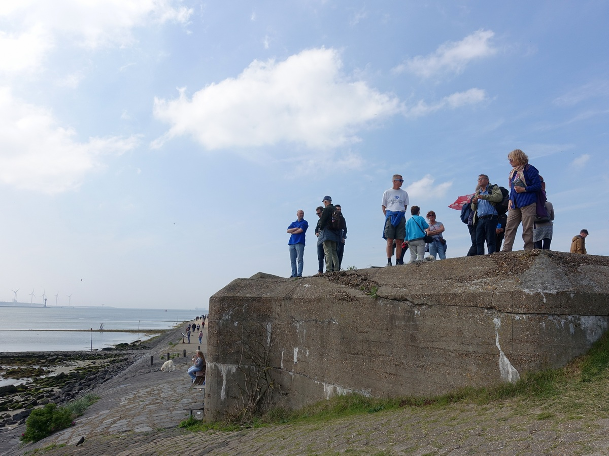 Bunker - wandelen langs de Atlantikwall