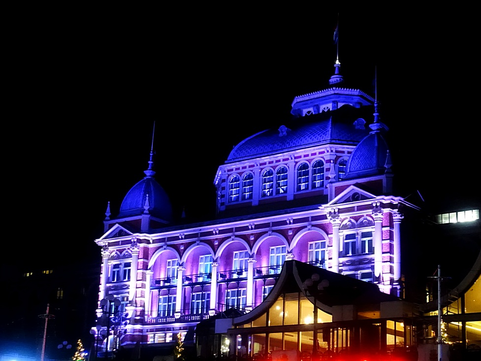 Scheveningen Light Walk Kurhaus