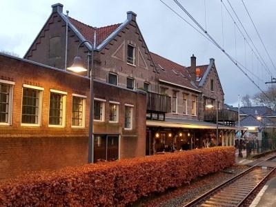 Station Overveen NS wandeling