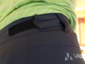 Detail Vaude verstelbare broek