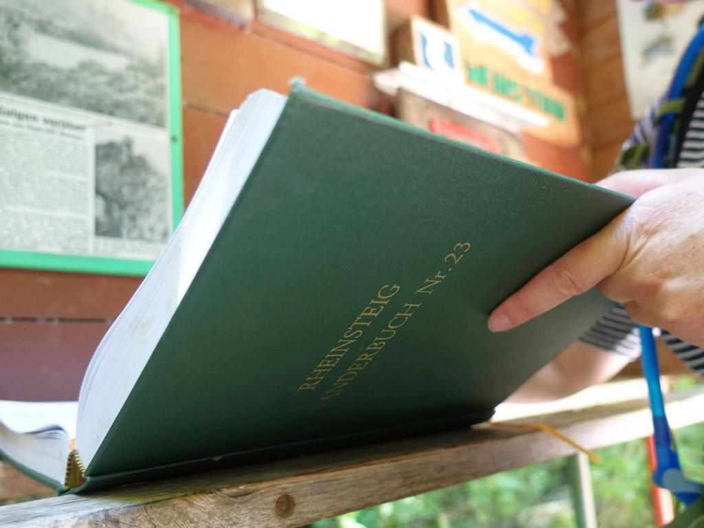 Rheinsteig wanderbuch