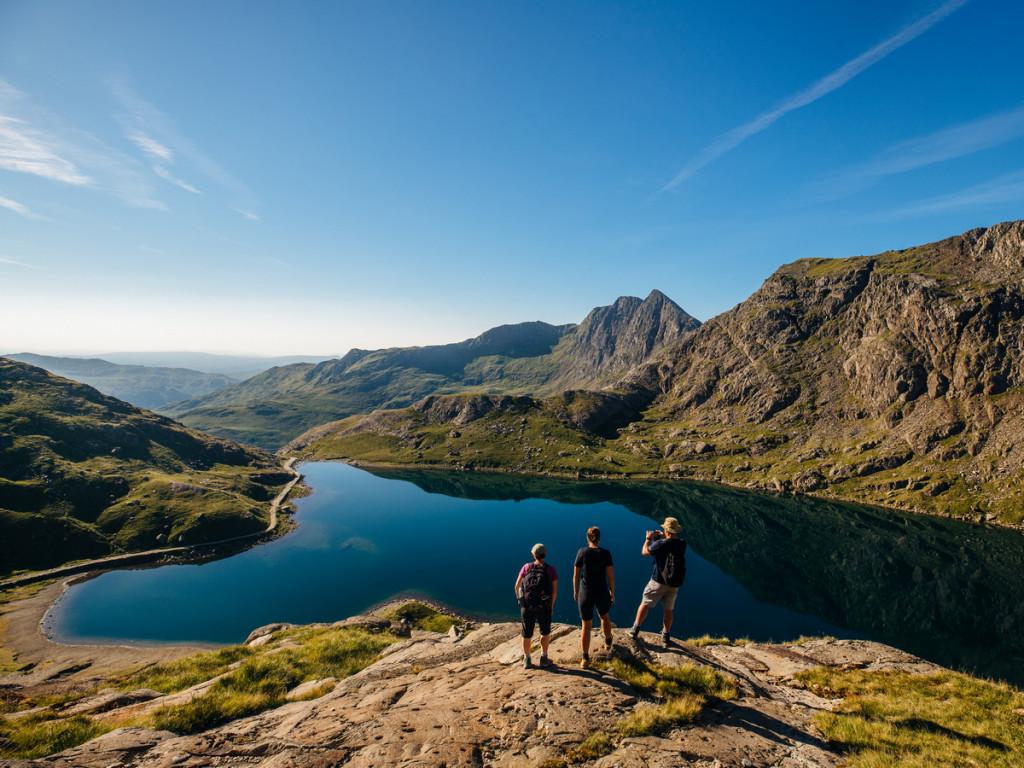 Wandelen in Wales Snowdonia