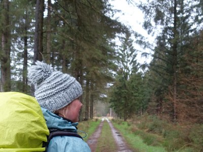Wanda Wandelt Cabiner trekking