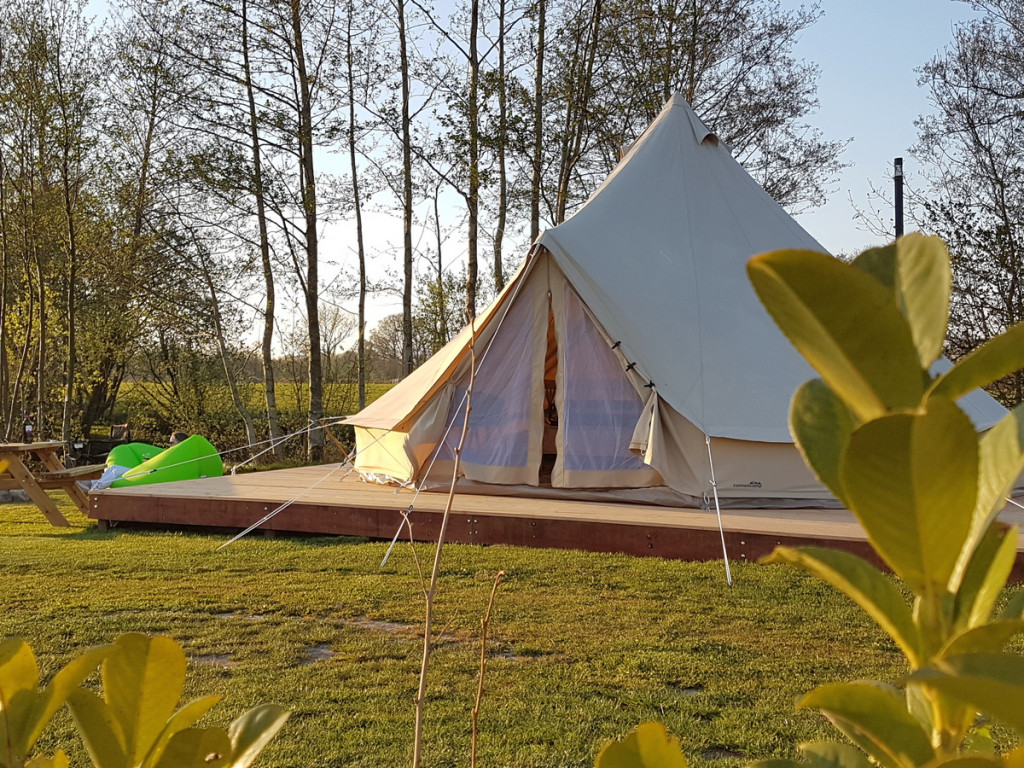 Belltent camping de Wedze