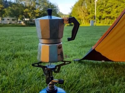 Koffiezetten op camping