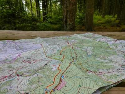 Routekaart Schneifelpad