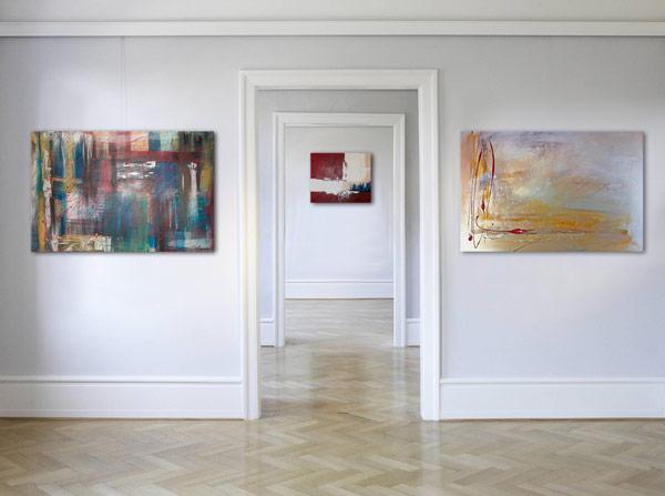 Wandbilder Galerie  Wandbilder Acrylbilder Slavova Art
