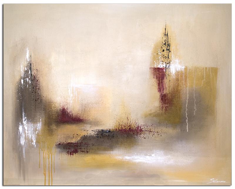 Wandbild Modern Invert Kunst Bild Acryl Abstrakt