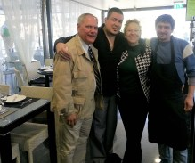 Canadian-born Michael, restauranteur who has returned to Setúbal