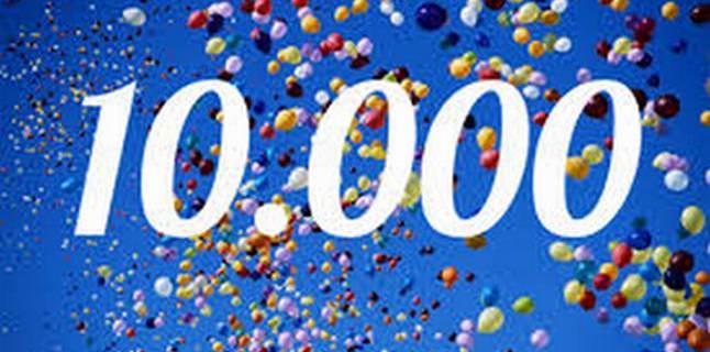 10000 wandelaars