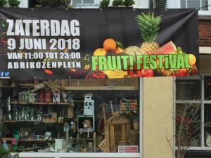 Aankondiging Fruitfestival in Vruchtenbuurt