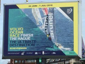 Volvo Ocean Race in Scheveningen
