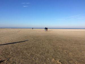 Zandmotor, groot stuk zand