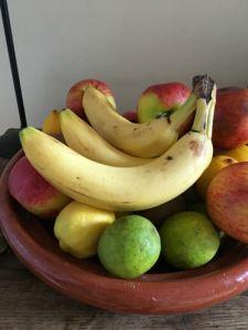 Gekleurde bananen (uit Zuid-Amerika)