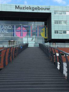 Muziekgebouw in Amsterdam