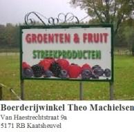 T. Machielsen groente en fruit Kaatsheuvel