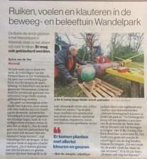 Krantenartikel Brabants Dagblad 19-12-2019