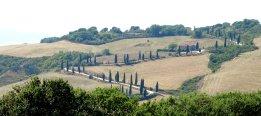Typisch Toscane: Heuvels en cipressen
