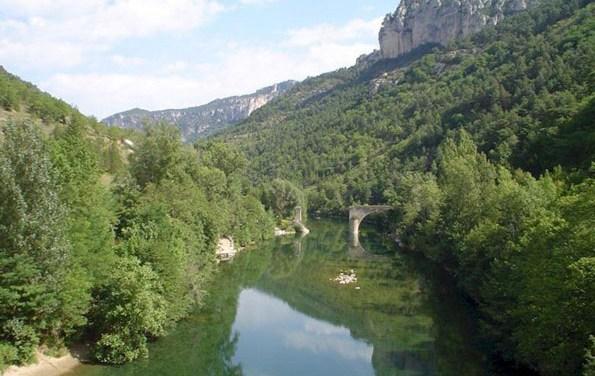Wandelarrangement in de gorges van de Aveyron